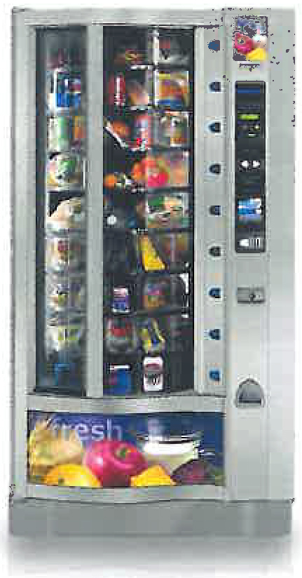 Food vending machine 2